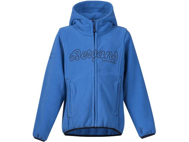 Bergans Bryggen Jacket Kinder athens blue/navy